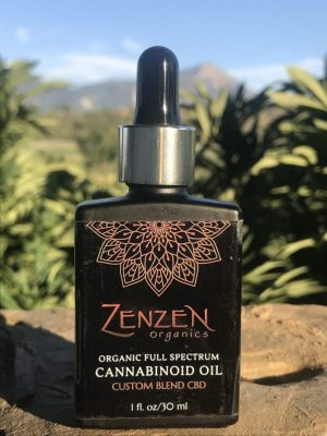 Custom CBD OIl - 1oz bottle - Zenzen Organics
