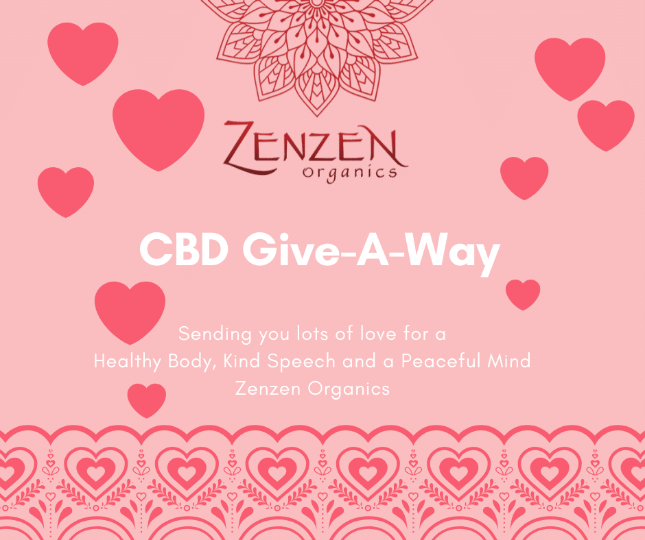 Zenzen Organics to Give Away a Year's Supply of CBD oil to Three Lucky People